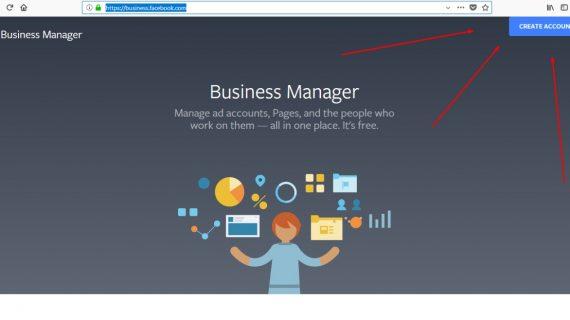 Cara membuat akun iklan di facebook business manager